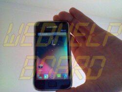 Galaxy S recibe el puerto con la actualización 4.1 Jelly Bean