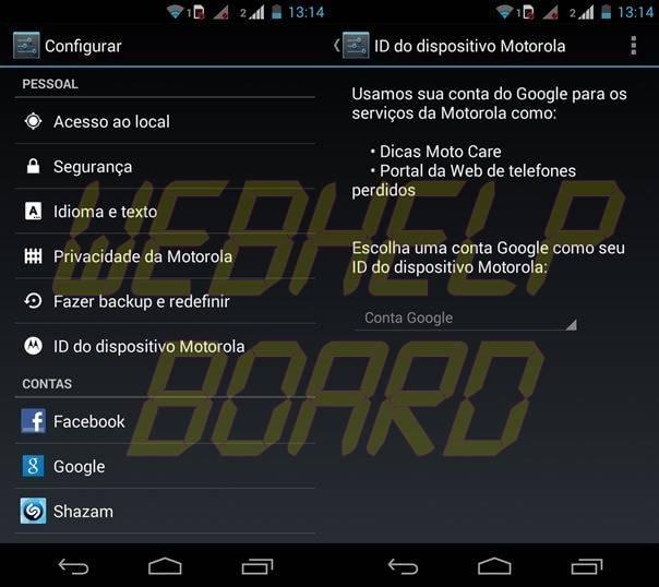 ID Dispositivo Motorla Moto G ShowMeTech - Moto G: dicas para aproveitar melhor seu novo smartphone