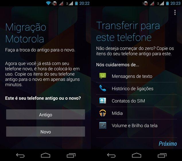 Migração Motorola Moto G ShowMeTech - Moto G: dicas para aproveitar melhor seu novo smartphone