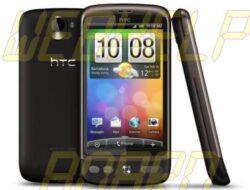 HTC Desire recibe la actualización de Android Froyo 2.2