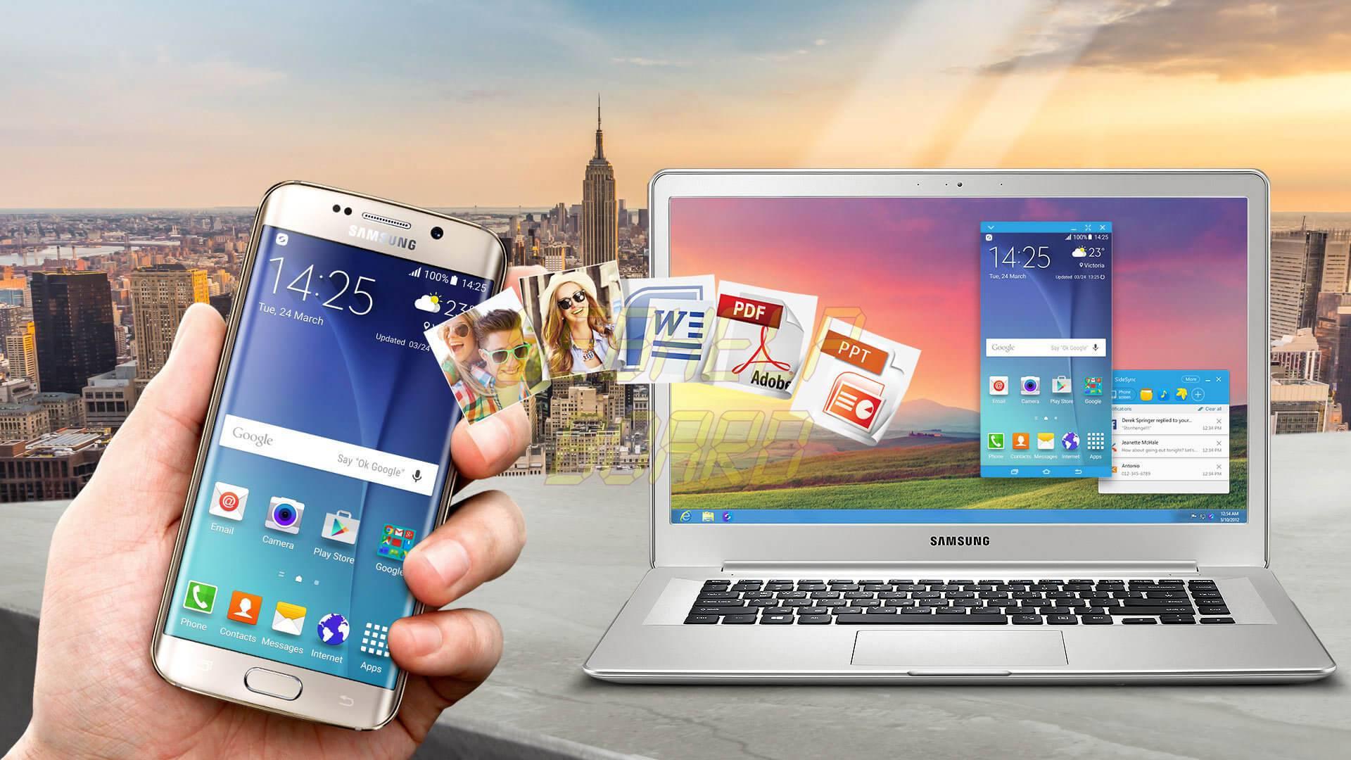 img desk sidesync kv - Samsung SideSync: veja como atender uma ligação via celular pelo computador