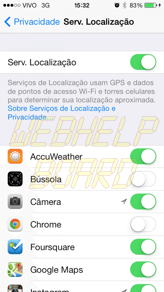 ios loc - Top 7 segredos do iOS 7 que todo mundo precisa saber!