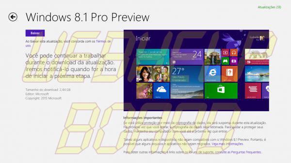 windows 8 1 store download 600x337 - Tutorial: como instalar o Windows 8.1 Preview no computador