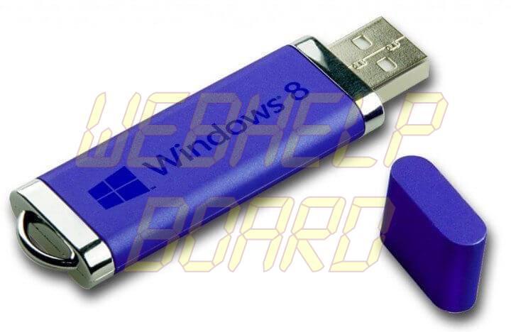 windows 8 flash usb memory 720x468 - Tutorial: como instalar o Windows 8.1 Preview no computador