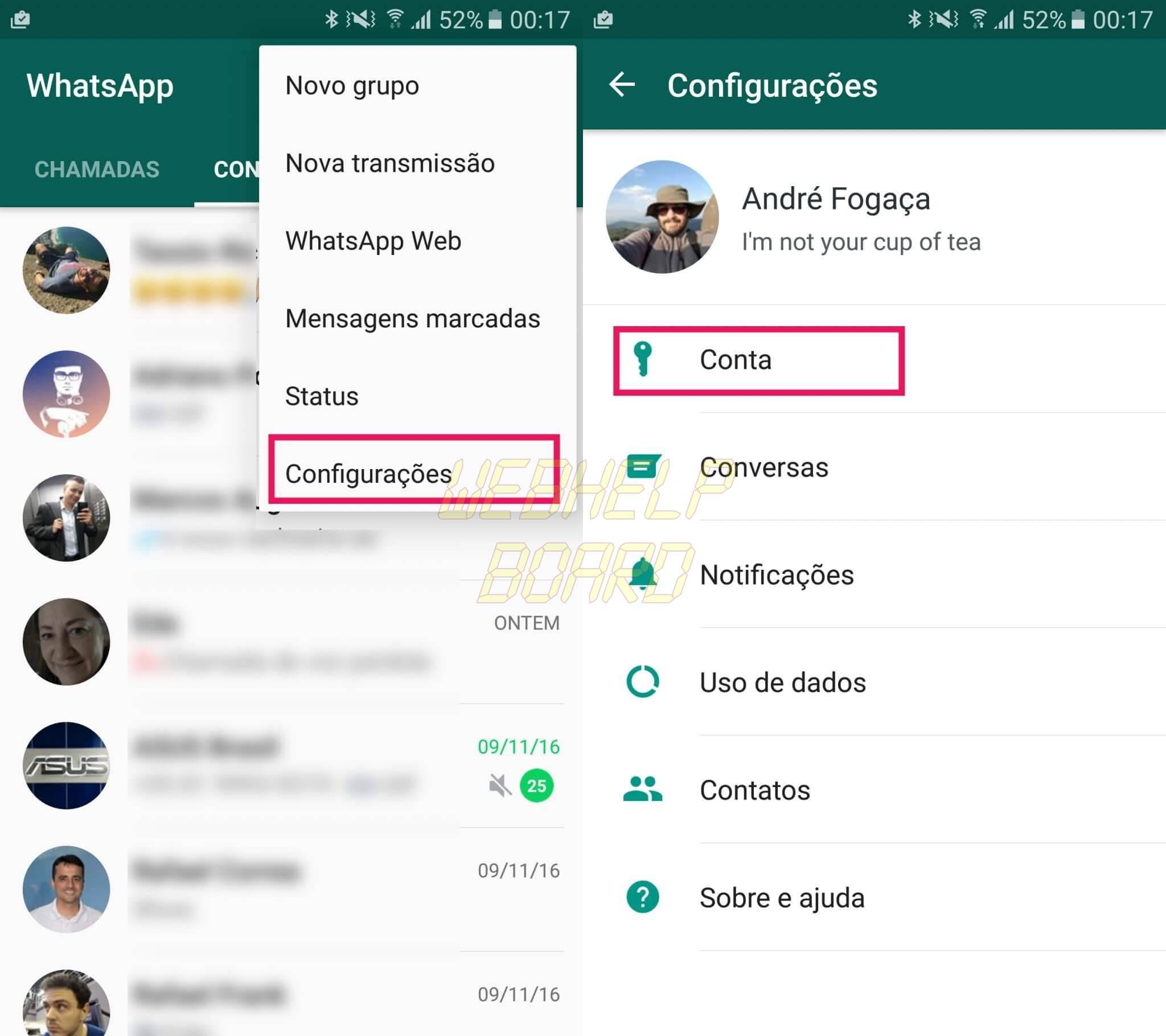 1 - Dica: como ativar a verificação em duas etapas do WhatsApp Beta
