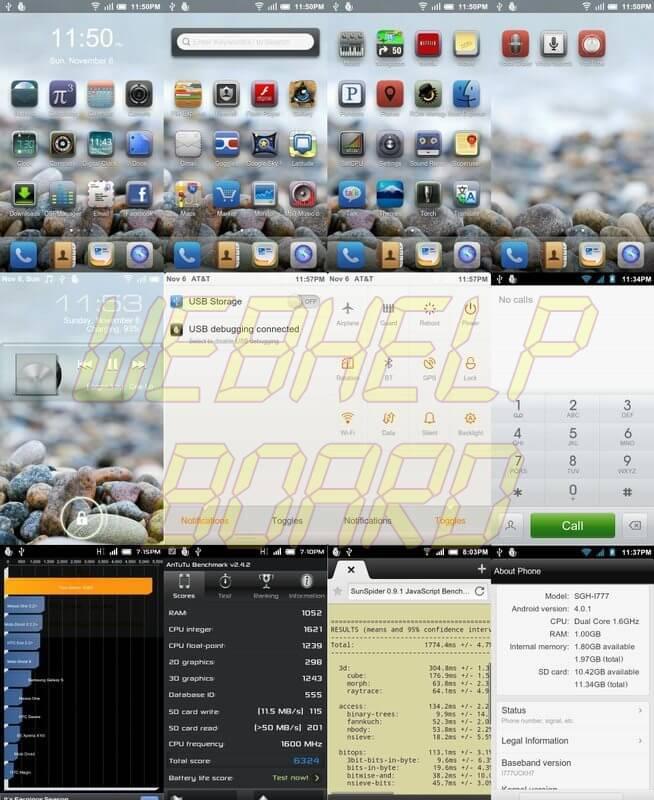 Androiod 4.0 ICS Samsung Galaxy SII GT 9100 - Instale a ROM Android 4.0.1 ICS MIUI para o Galaxy S II da AT&T