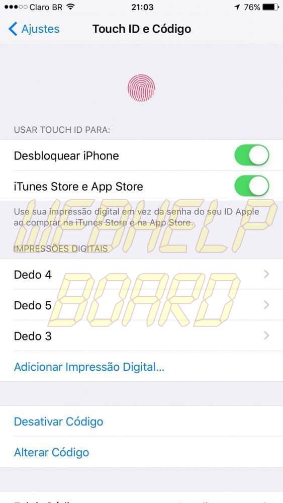 IMG 0841 563x1000 - Tutorial: Configurando o sensor de impressão digital, Touch ID, no iPhone