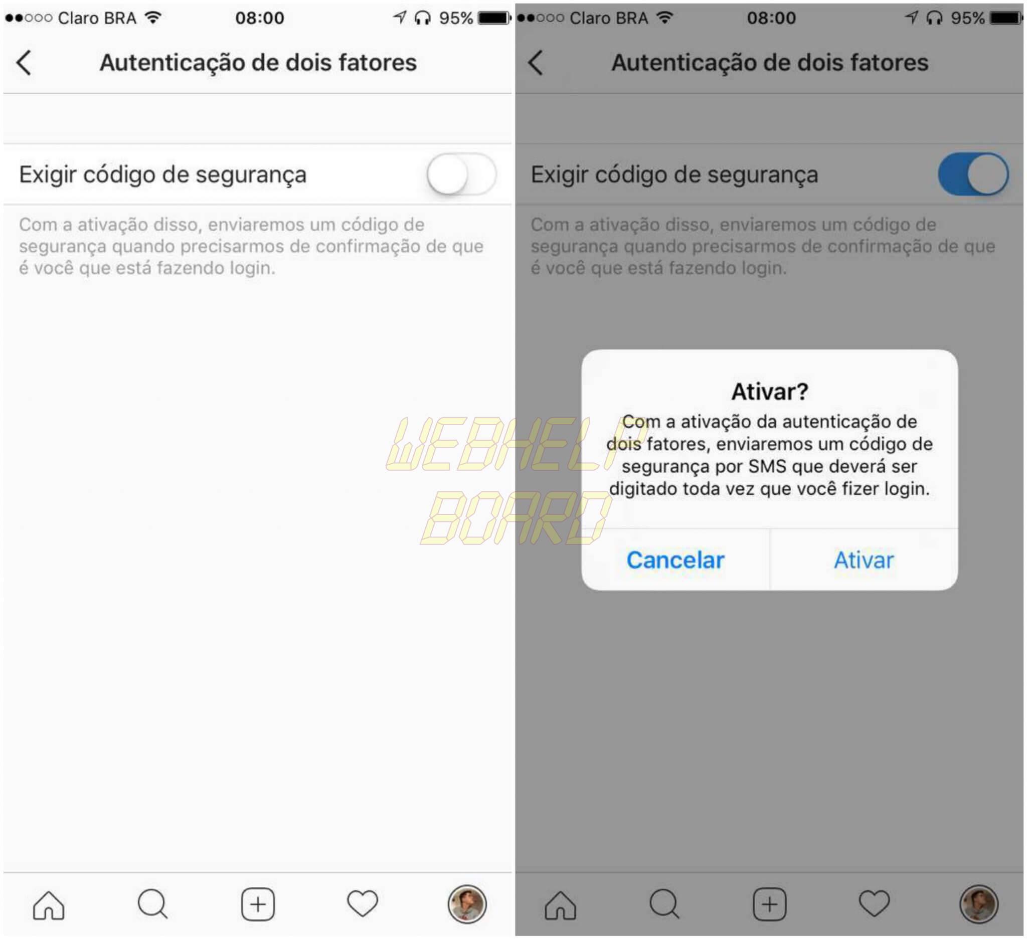 Instagram 2 - Tutorial: Como ativar a verificação em duas etapas do Instagram