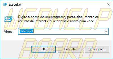 executar arquivos temporarios 1 - Tutorial: como excluir arquivos temporários do Windows manualmente