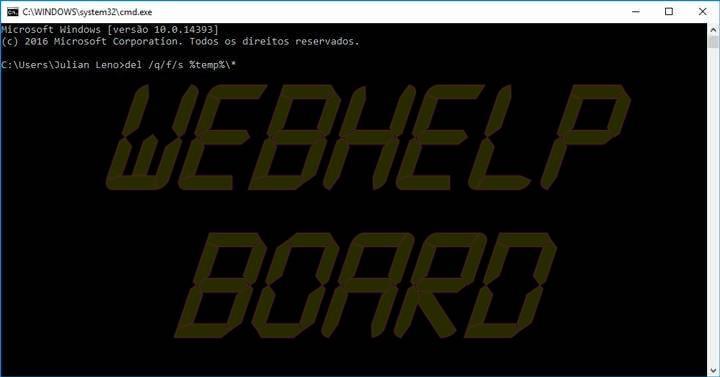 promp de comando do Windows 720x377 - Tutorial: como excluir arquivos temporários do Windows manualmente